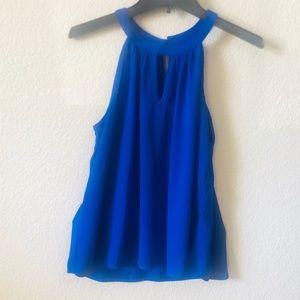Royal Blue halter neck top| PAPERMOON- Stitch Fix